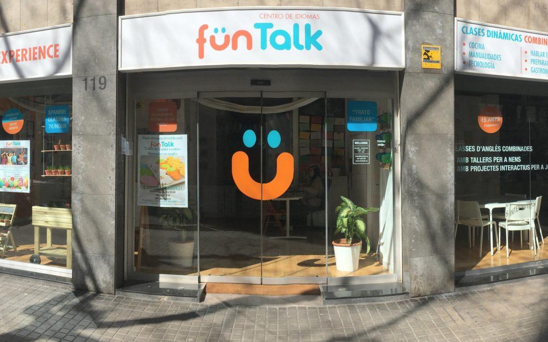 Talleres y extraescolares de inglés. La academia de inglés de referencia en Barcelona: FunTalk.