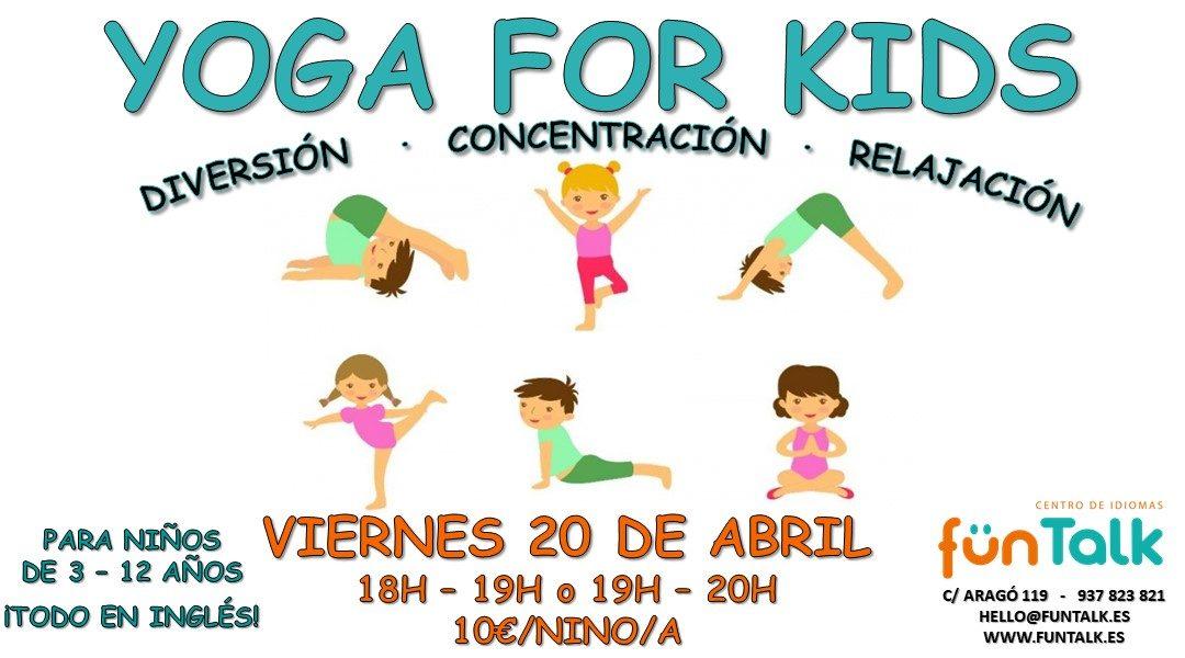 Eventos en inglés para adultos y niños. Abril 2018. Barcelona.