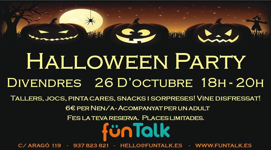 FunTalk Halloween Party