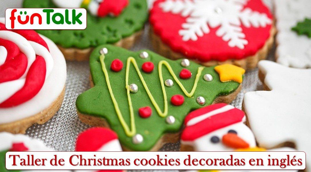TALLER DE CHRISTMAS COOKIES